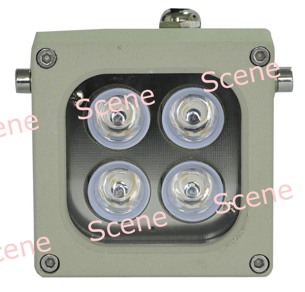 ФОТО 850nm 740nm 940nm 10W IR illuminator , Infrared Lamp, invisible IR light with Aluminum material & night vision light sources