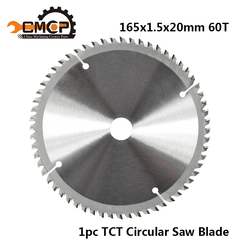 165mm 60T TCT Carbide Wood Saw Blades For Multi-function Circular Saw Blade Power Tools