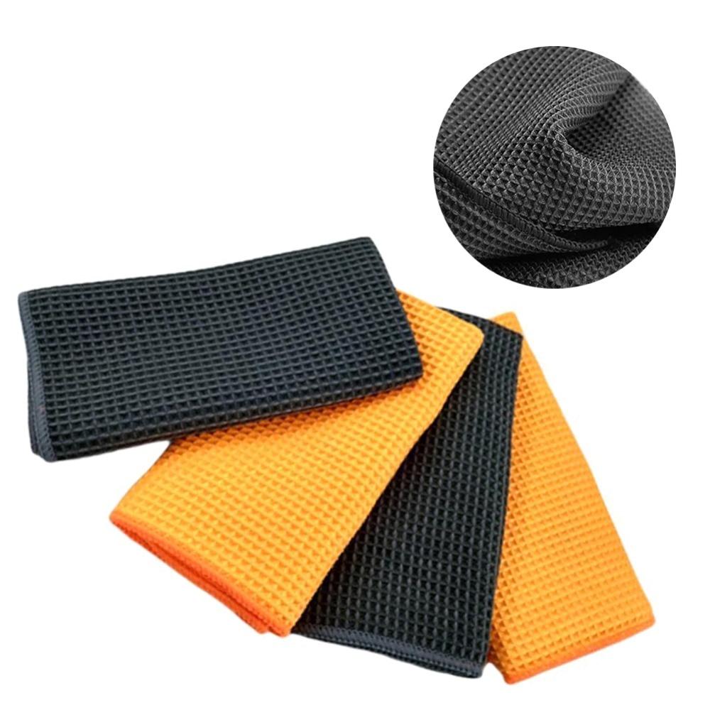 40x40cm Soft Microfiber Towel Car Cleaning Wash Clean Cloth Car Care Microfibre Wax Polishing A