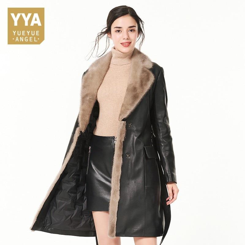 Marca-chaqueta-de-cuero-Real-2018-nuevo-invierno-c-lido-mujer -alargar-chaqueta-moda-Slim-Fit.jpg c3f1fdf4647