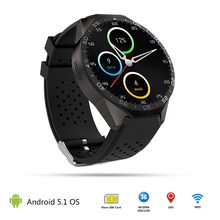 New OLED Screen Camera GPS Wifi SmartWatch 3G Nano SIM Music play SmartClock intelligent watch Sport Pedometer support APP(China)