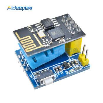 ESP8266 ESP-01ESP-01S DHT11 Serial Module Temperature Humidity Sensor Transceiver Receiver For Arduino NodeMCU Wireless WIFI