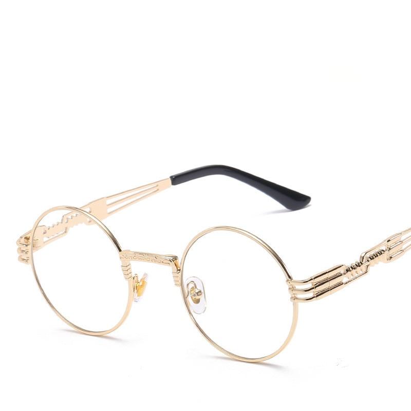 LONSY Übergroße runde Retro-Sonnenbrille Frauen Markendesignerin - Bekleidungszubehör - Foto 3