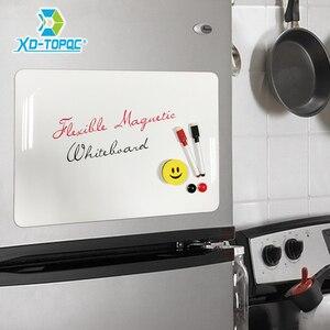 XINDI شركة A3 30*42 سنتيمتر مرنة الثلاجة مغناطيس السبورة للماء الاطفال الرسم رسالة مجلس المغناطيسي الثلاجة مذكرة سادة FM02