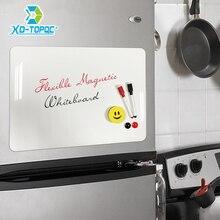 White A3 30*42cm Flexible Fridge Magnets Whiteboard Waterproof Kids Drawing Message Board Magnetic Refrigerator Memo Pad FM02