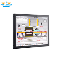 19 19 Inch LED Industrial Panel PC All In One Computer with Made-In-China 5 Wire Resistive Touch Screen Intel J1800 Dual Core (2)
