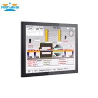 19 19 Inch LED Industrial Panel PC Intel Celeron 3855U with 5 Wire Resistive Touch Screen 1VGA/3USB2.0/1USB3.0/1LAN/3COM/FAN (2)