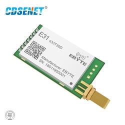 1pc AX5043 433MHz rf Transmitter Receiver Long Range Wireless rf Module E31-433T30D 1W 433 mhz rf Transceiver iot Circuit