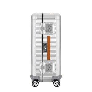"""Image 4 - Sacs de voyage à main en Aluminium, sac à roulettes, 20 """"26 pouces, 100% valise en Aluminium"""
