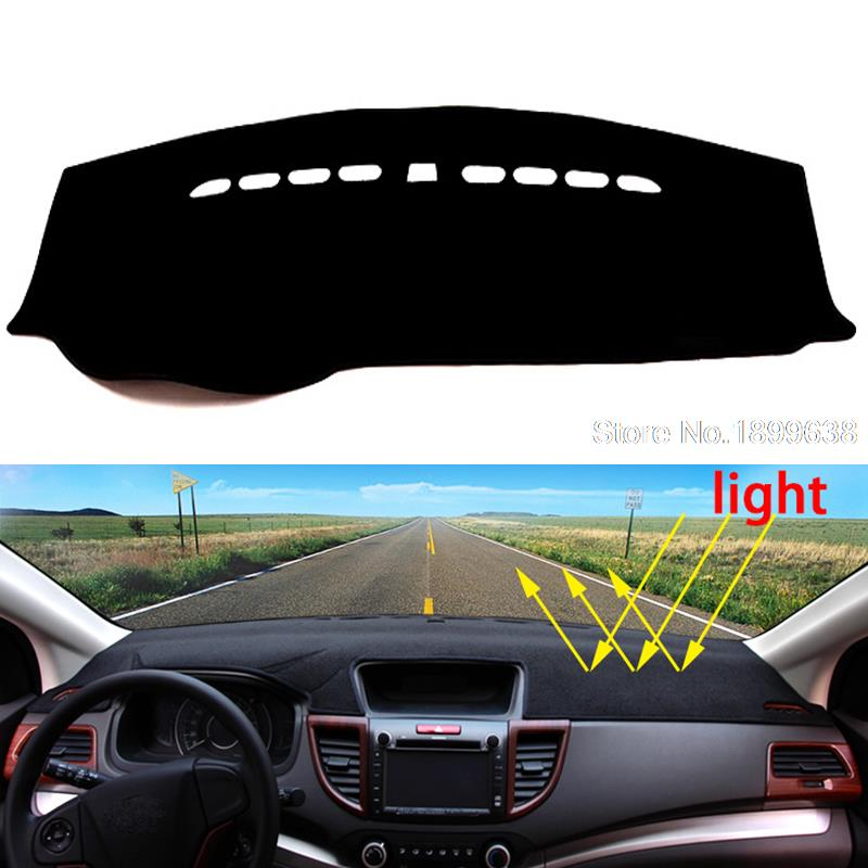 Car dashboard Avoid light pad Instrument platform desk cover Mats Carpets Auto accessories for Peugeot 2008 301 2014 - 2016 dashboard cover