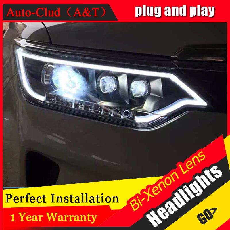 Car Styling LED Head Lamp for Toyota Camry Headlight New Camry V55 led headlight 2014 2015