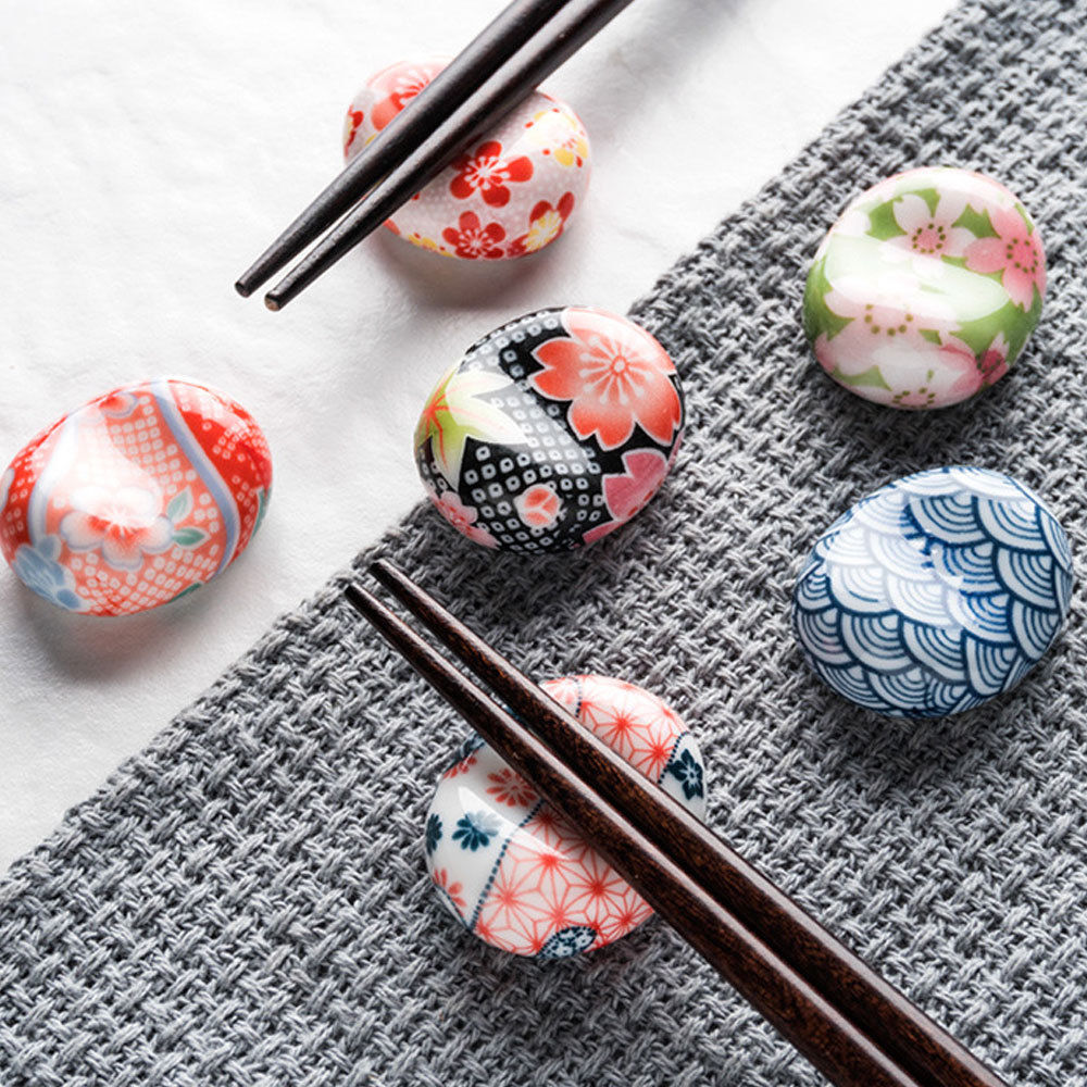 Визуальный сенсорный японский стиль керамические палочки держатель подставка Милая стойка для палочек для еды Подушка Уход отдых кухня Искусство ремесло посуда N