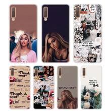 Silicone Phone Case Ariana grande Thank u next Printing for Samsung Galaxy A8S A9 A8 Star A7 A6 A5 A3 Plus 2018 2017 2016 Cover