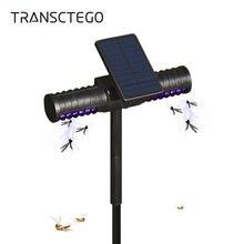 Светодиодный светильник на солнечной батарее москитный убийца