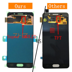 Image 4 - Super AMOLED For Samsung Galaxy A3 2016 lcd a310 SM A310F lcd Display Touch Screen Digitizer Assembly a310f screen repair parts