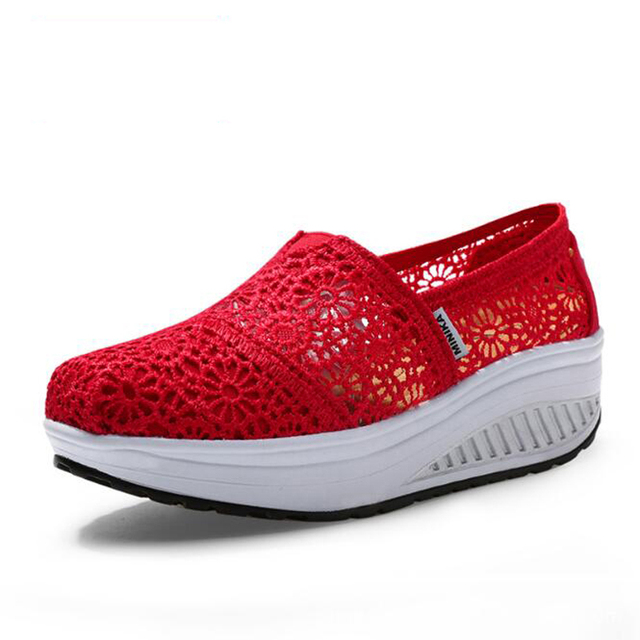 Mulheres sapatos casuais sapatos 2017 primavera lona de alta qualidade respirável sapatos de caminhada ao ar livre rasa mulheres slip-on sapatos casuais para mulheres