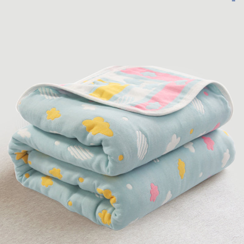 120*150cm Baby Bedding Quilt Muslin Cotton Swaddles for Newborns Six Layers Baby Blankets Summer Kids Sleeping Throw Bath Towel 6 layers cotton muslin baby blanket swaddles bedding 2017 autumn & winter cartoon cute infant bath towel kids quilt size 47 47