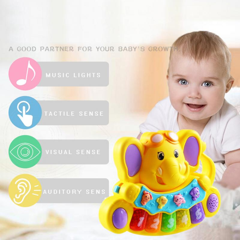 Kids Electronic Organ Musical Toys with Sound /& Lights Toddler Toys Gift