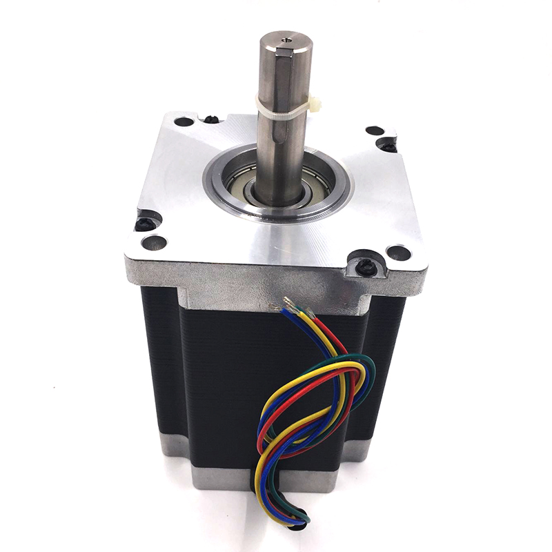 Leadshine NEMA42 Stepper Motor 20N.m 2857oz-in 110mm 2-phase 6A D=19mm 110HS20 for Textile Machine free shipping genuine leadshine 110hs28 phase nema 42 hybrid stepper motor with 28 n m 6 5 a length 201 mm shaft 19 mm