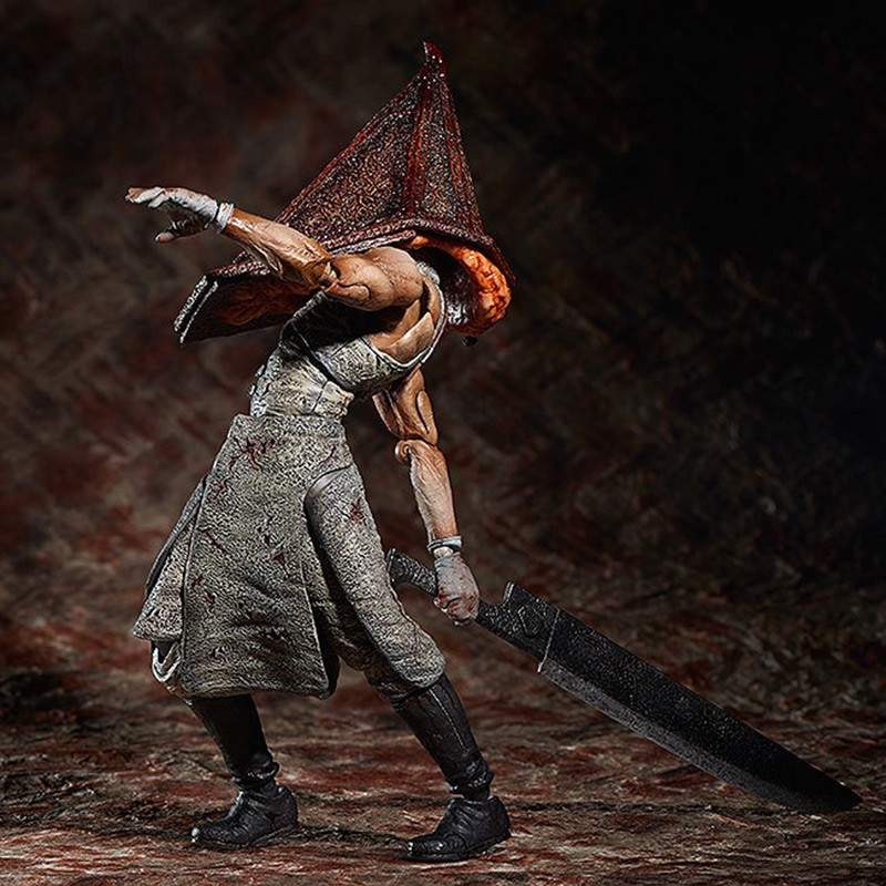 game 1PCS Silent Hill 2 Figma Series SP 055 Red Pyramid Thing PVC Action Figure Collection Model Kids Toy Doll brinquedos the red pyramid