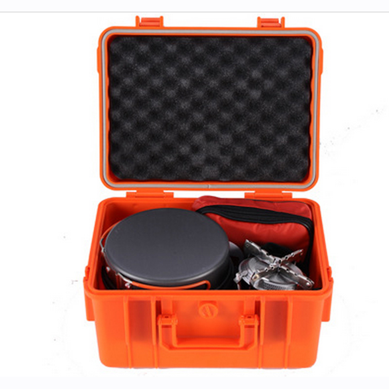 Tool Case Toolbox Suitcase Impact Resistant Sealed Waterproof ABS Case Photographic Box Camera Case With Pre-cut Foam