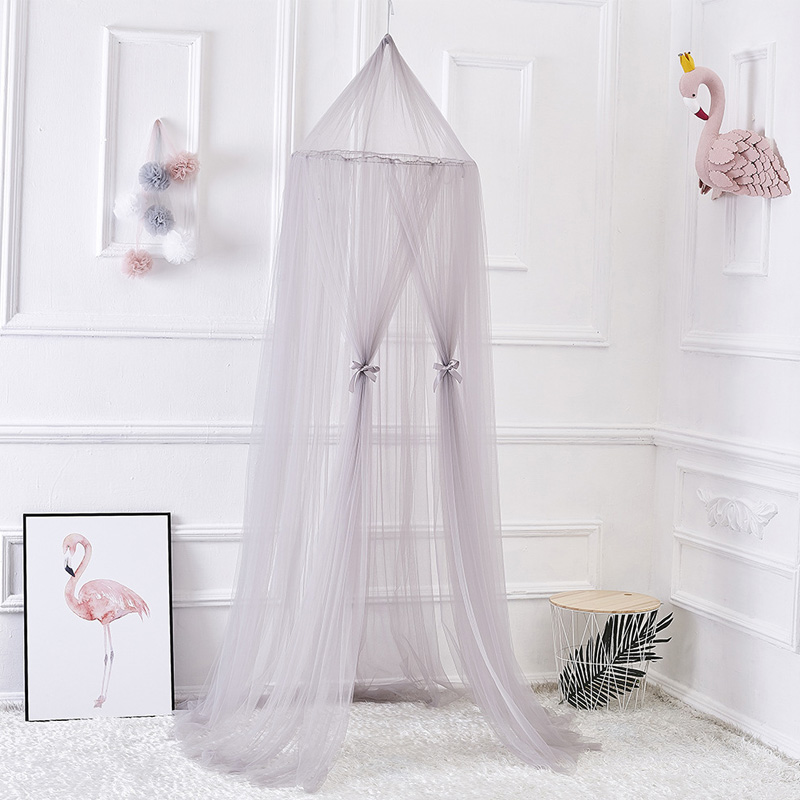 Childrens Room Decoration Curtain infantil Playtent Princess Hung Dome Mosquito Net Baby Bedding Set Baby Crib Netting Tent