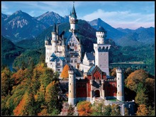 자수 카운트 크로스 스티치 키트 바느질 공예품 14 캐럿 dmc diy 아트 수제 장식 neuschwanstein castle 2