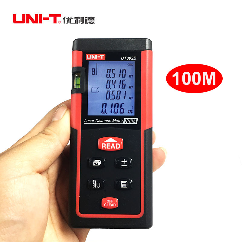 UNI-T UT392B 100M handheld laser rangefinder distance mete gauge volume area tester measurer Data Storage 100+two level bubbles biodynamic craniosacral therapy volume two