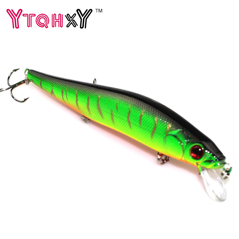 1Pcs Minnow Hard Bait Fishing Lure Fishing Wobblers 14cm 23g Crankbait Bass 3D Eyes pesca jig Fishing Tackle YE-251 1pcs 20cm 45g fishing lure large minnow lure artificial 3d eyes hard minnow baits with hooks fishing tackle senuelos de pesca