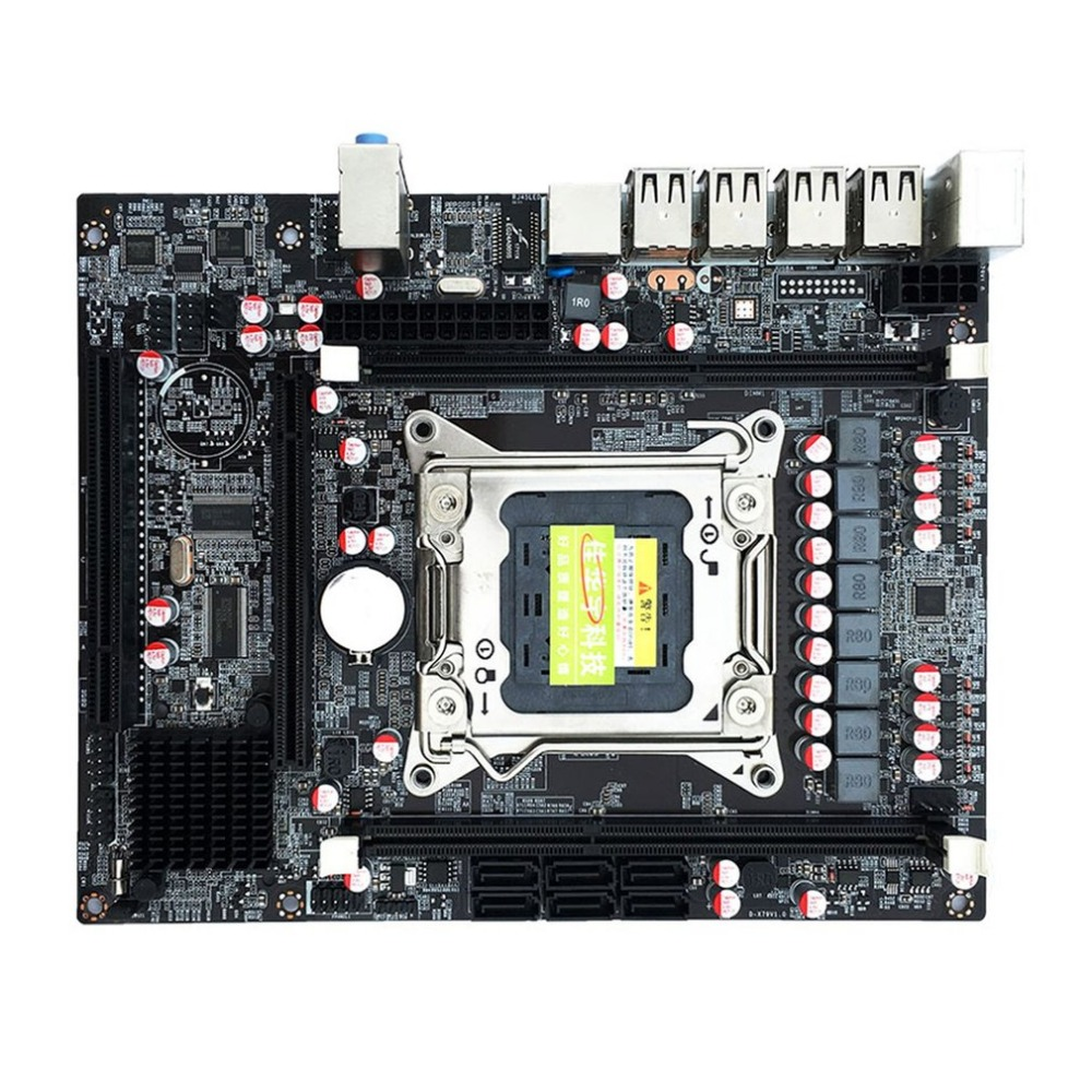 Desktop Computer Mainboard X79 Gaming Motherboard LGA 2011 ATX 4 Channels All Solid Board Support E5-2670 2650 biostar h110mds2 pro d4 1151 h110 motherboard support g4560 i3 7100 micro atx desktop computer motherboard solid state capacitor
