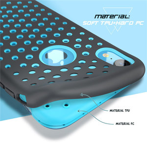 Image 2 - For iphone XR Case 6.1 inch SUPCASE UB Sport Liquid Silicone Rubber PC Premium Hybrid Case [Hole Pattern] with Heat Dissipation