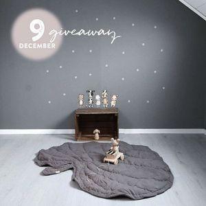 Image 5 - Manta de algodón con forma de hoja para bebé, tapete de juego para niño, alfombra para gatear, decoración para el hogar para niño, ropa de cama para bebé, manta para cochecito