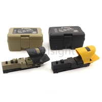 Tactical Scope Red Dot Sight For 20mm Weaver Picatinny Rail Reflex C MORE Black Tan New