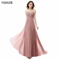 Elegant Prom Dresses Long 2018 A Line Sweetheart Off The Shoulder Lace Up Beaded Sequined Floor