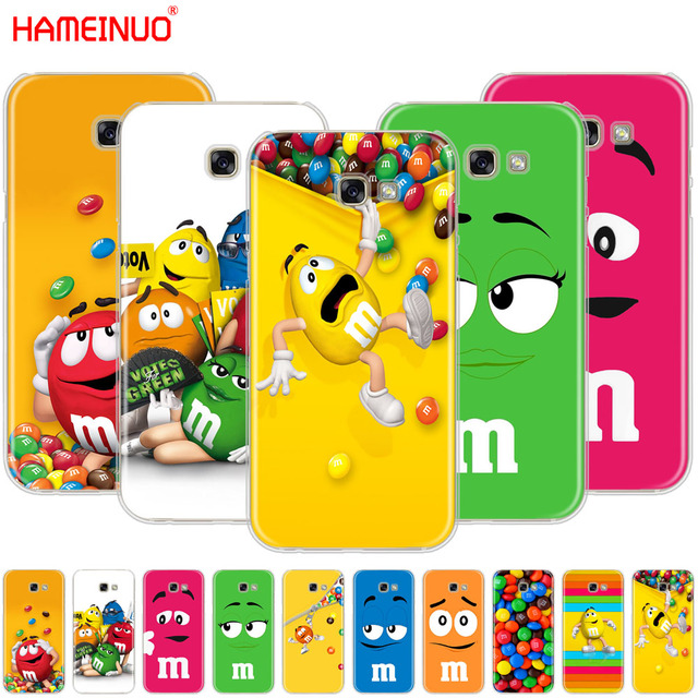 reputable site b6ffe b733d US $2.48  HAMEINUO Cute M&M's Chocolate Nutella Bottle cell phone case  cover for Samsung Galaxy A3 A310 A5 A510 A7 A8 A9 2016 2017 2018-in ...