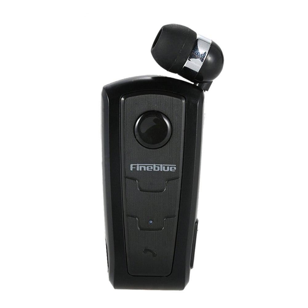 Fineblue F910 Wireless Bluetooth V3.0 Headset In-Ear Earphone Vibrating Alert Wear Clip Hands Free for Smartphones Hands Earbud