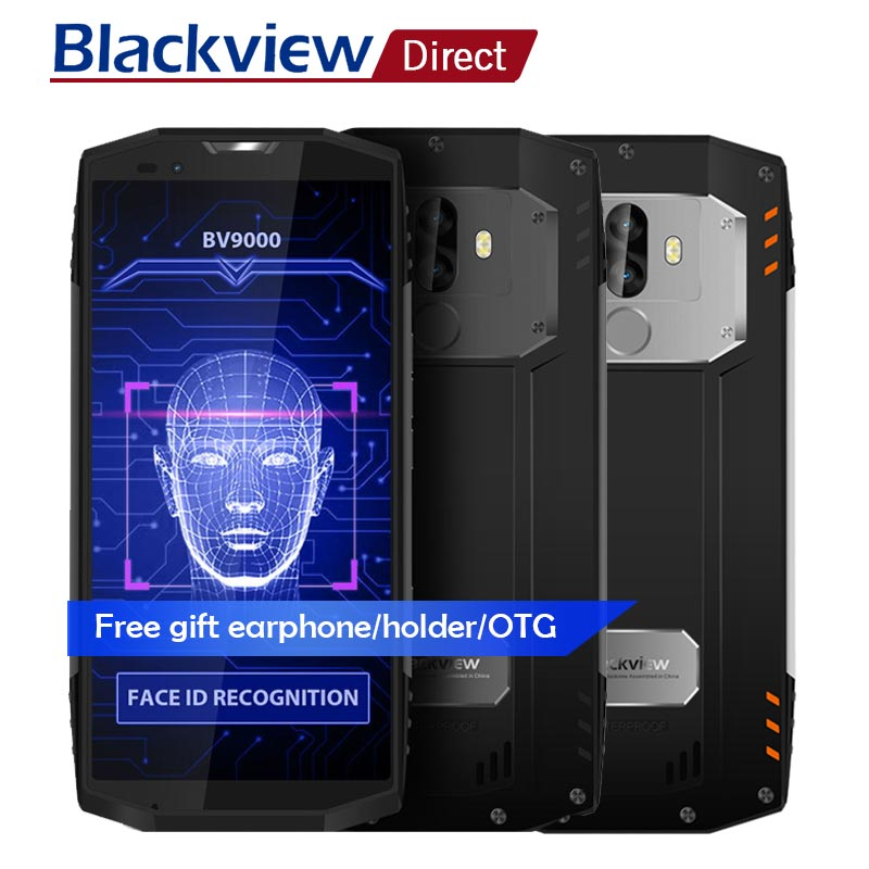 BLACKVIEW BV9000 PRO Android 7.1 18:9 IP68 Impermeabile Smartphone 5.7