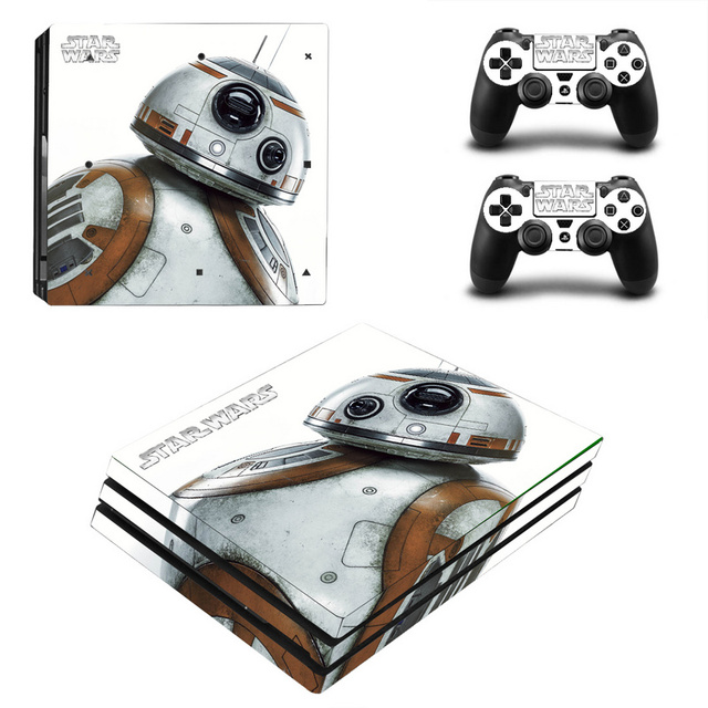 Star Wars Decal Skin Cover For Playstaion 4 Console PS4 Skin Stickers+2Pcs Controller Protective Skins For PS4 Pro Accessories 3