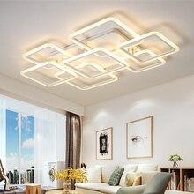 Nova chegada moderna led luzes de teto para sala quarto criativo led lâmpada do teto lamparas techo plafonnier