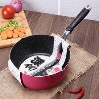 Hight Quality Pink Aluminum alloy nonstick frying skillet smokeless ceramic coating pan pots Janpanese cooking tools
