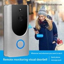Wi-Fi видео звонок Камера Беспроводной дверной звонок Камера со встроенным обнаружения Ночное видение
