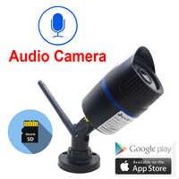 Caméra Wifi IP 720 P 960 P 1080 P HD sans fil Cctv Surveillance intérieure extérieure étanche Audio IPCam infrarouge caméra de sécurité à domicile