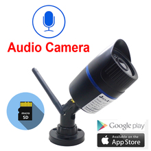 IP камера наружная беспроводная водонепроницаемая с поддержкой Wi Fi, 720/960/1080P