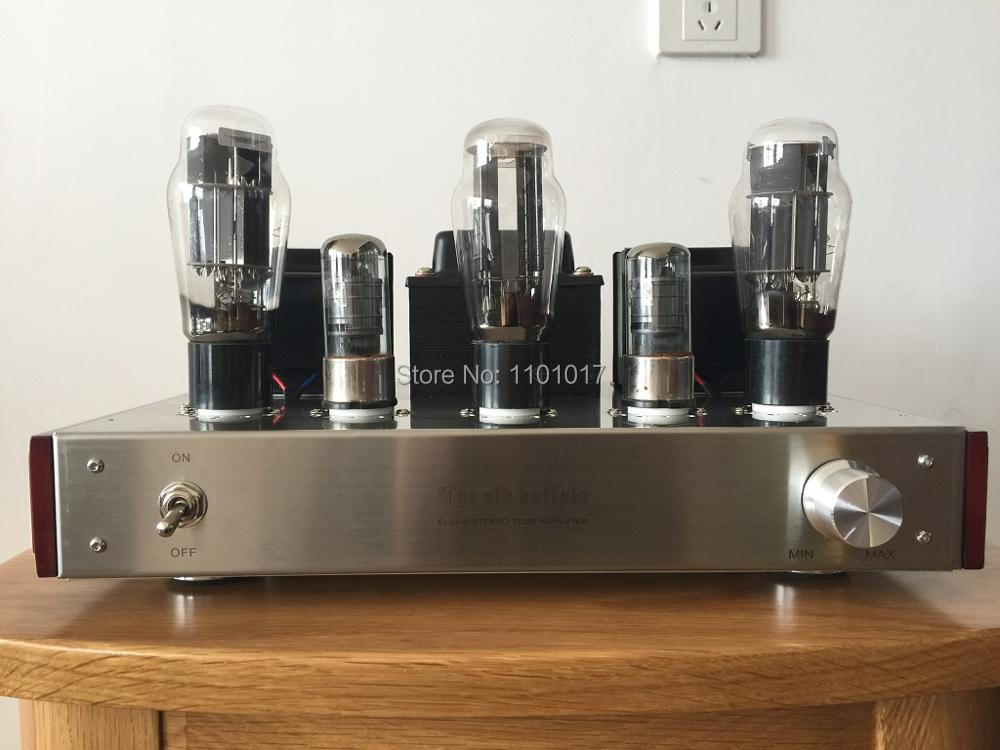 OldBuffalo 6N5P 6AS7GA tube amplifier HIFI EXQUIS parallel connection signal-ended lamp amp headphone output OBF6N5P xiangsheng sweet peach sp kt100 tube amplifier hifi exquis signal ended amp mm phono stage headphone usb decode xsspkt100