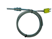 "Type Thermocouple K Temperature Sensors for EGT w 1/8 NPT ""Compression Fittings"