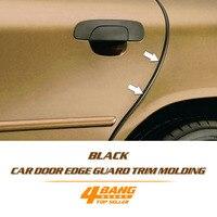 5x8mm Black U Trim Strip Car Auto Interior Console Panel Conditioner Outlet Rim Moulding Door Guards Edge 50Metres 164ft