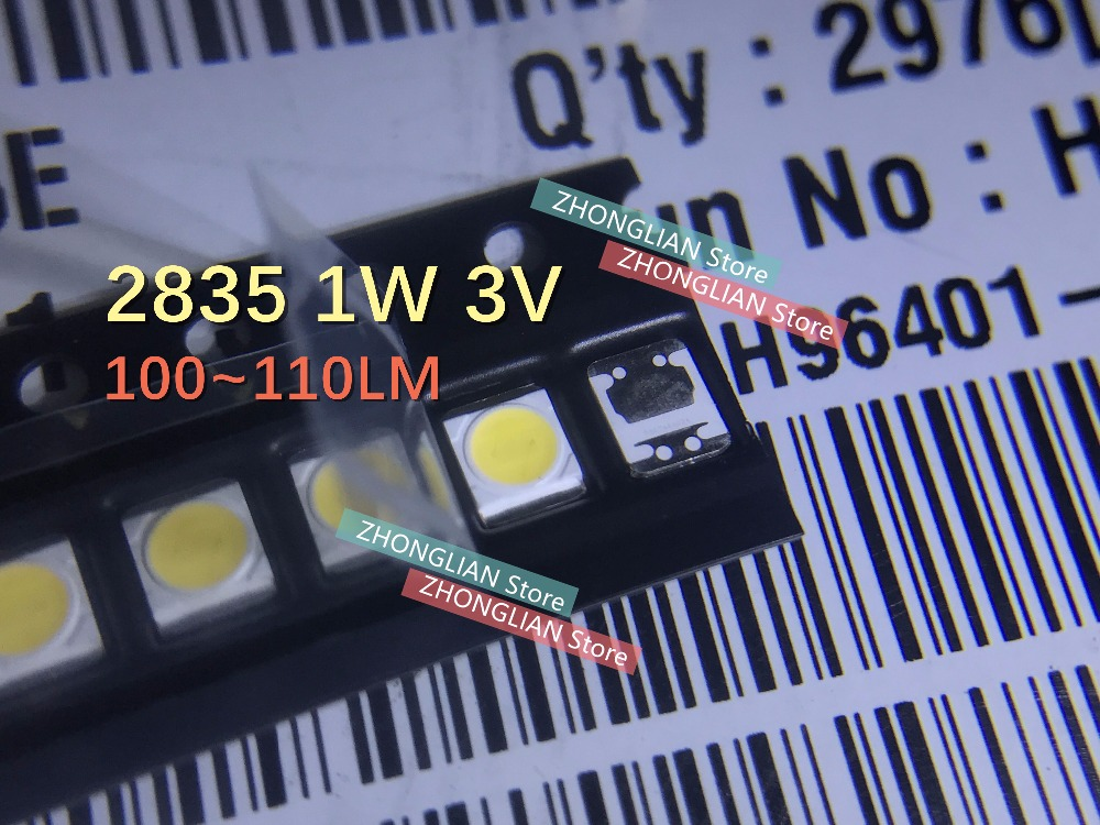 100pcs LATWT470RELZK 3528 Backlight LCD Screen Backlight Lamp SMD Beads LED Maintenance TV Special Cold White 1W 3V Backlight