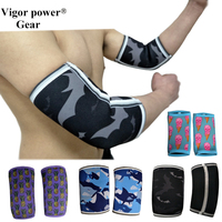 Free shipping Vigor Power Gear 5mm elbow sleeves elbow pads elbow support for Sports, Fitness, Warmth, Compression, Recovery