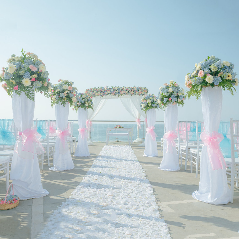 100pcs set 18cmx275cm Organza Chair Sash Bow For Banquet Wedding Party Event Chrismas Decoration Sheer Organza