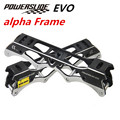 [Alpha Plane&Rocking Frame] 100% Original PowerSlide EVO Alpha Inline Skate Frame, 219mm Rocking 231mm 243mm Plane Skating Base